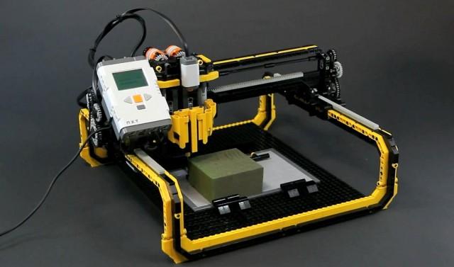 3D LEGO marógép