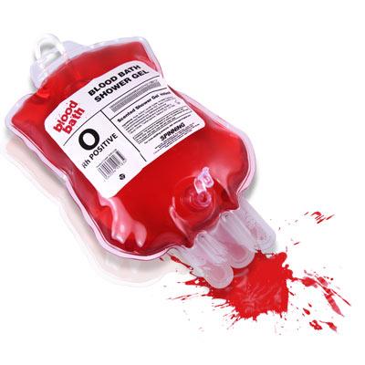 Vértasakos habfürdő