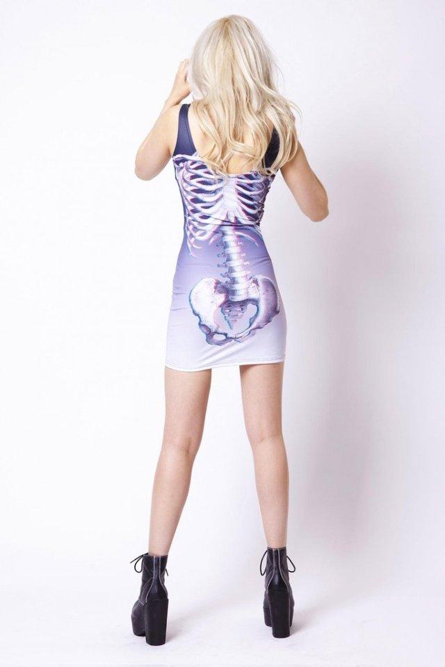 3D csontváz ruha