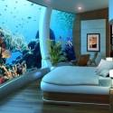Hálószoba az akváriumban