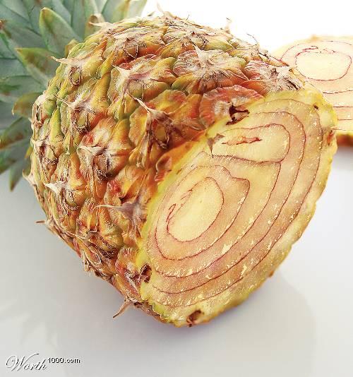 Photoshop gyümölcs: ananász-hagyma