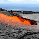 Forró láva folyó, Hawaii