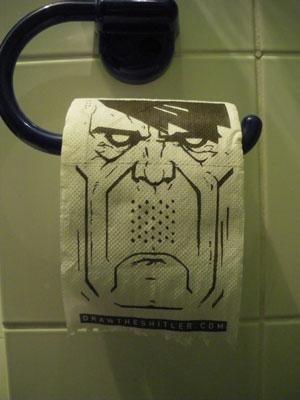 Hitler WC papír