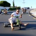 Tricikli drifting, avagy MarioKart élőben