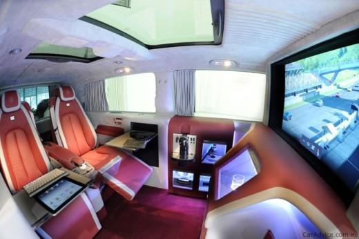 Luxus iroda 4 keréken - Brabus Mercedes-Benz Viano (2)