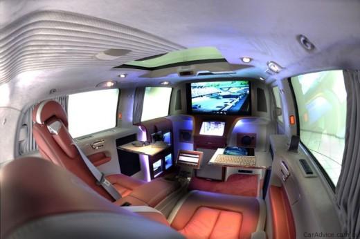 Luxus iroda 4 keréken - Brabus Mercedes-Benz Viano (3)