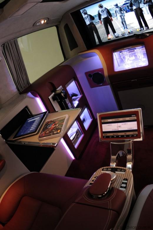 Luxus iroda 4 keréken - Brabus Mercedes-Benz Viano (6)
