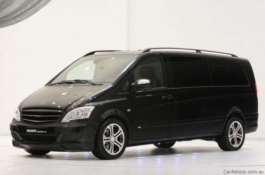 Luxus iroda 4 keréken - Brabus Mercedes-Benz Viano (1)