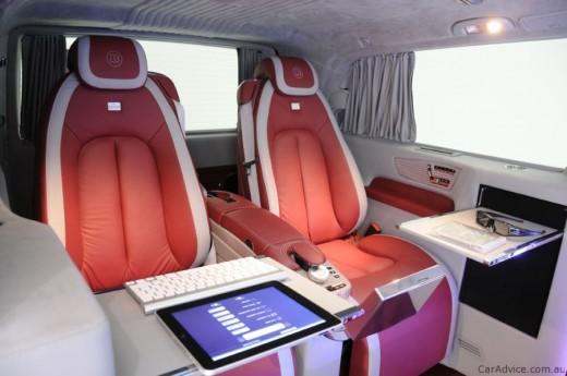 Luxus iroda 4 keréken - Brabus Mercedes-Benz Viano (13)