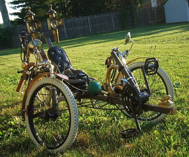 Steampunk bringa