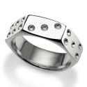 Ipari stílusú ezüst ékszerek, avagy ilyen az anyacsavar gyűrű