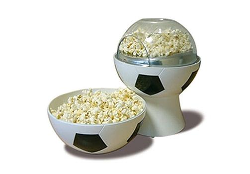 Focilabda formájú popcorn készítő