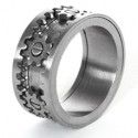 Kinekt Design ékszer gyűrű, fogaskerék meghajtással