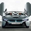 BMW hybrid i8 Spyder koncepció autó